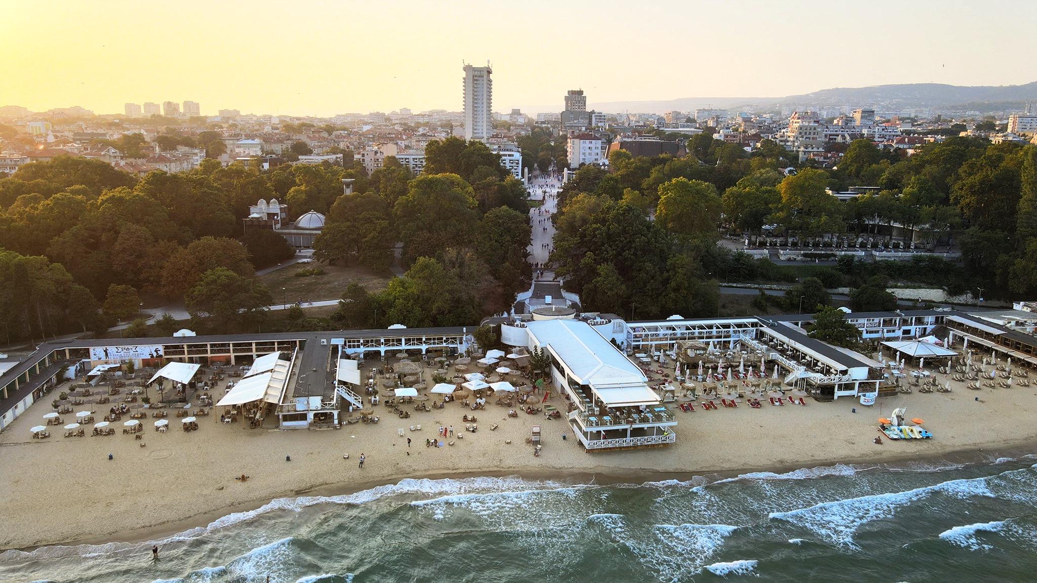 Централен плаж Варна